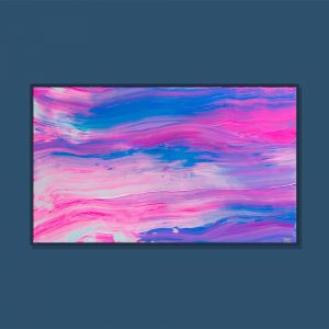 Tran Tuan Abstract Beauty of Meditation 2021 135 x 80 x 5 cm Acrylic on Canvas Painting