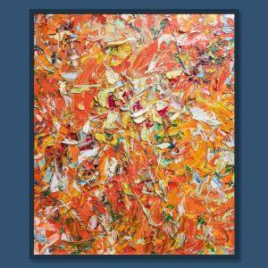 TranTuan Abstract Happy Woman 2015 120 x 100 x 3 cm 2020 Oil on Canvas Painting