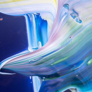 Abstract Happy Blue Night 2021 Detail 15