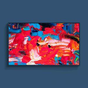 Tran Tuan Abstract 2021 135 x 80 x 5 cm Acrylic on Canvas Painting